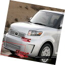 グリル For 08-10 Scion XB Bumper Stainless Mesh Grille In...