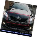 グリル For 2007-2009 Toyota Camry Black Stainless Steel M...