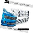 グリル Fits 10-11 Chevy Camaro LT/LS V6 304 Stainless Ste...