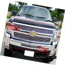 グリル For 07-10 Chevy Silverado 2500 Billet Grille Combo...