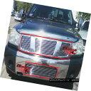 グリル For 04-07 Nissan Titan/Armada Billet Grille Combo ...