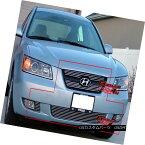 グリル 06-08 Fit Hyundai Sonata Billet Grille Combo Insert 06-08フィット・ヒュンダイ・ソナタ・ビレット・グリル・コンボ・インサート