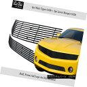 グリル Fits 2010-2013 Chevy Camaro LT/LS V6 Stainless Ste...