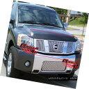 グリル For 04-07 Nissan Titan/Armada Perimeter Grille Ins...