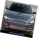グリル Fits 2008-2015 Mitsubishi Lancer Evolution Bumper ...