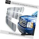 グリル Fits 2007-2012 Chevy Silverado 1500 304 Stainless ...