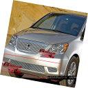 グリル For 08-10 Honda Odyssey Bumper Billet Grille Inser...