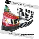 グリル Fits 05-07 Nissan Pathfinder/05-08 Frontier Stainl...