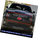 グリル For 10-11 2011 Chevy Camaro LT/LS/RS/SS Black Bill...