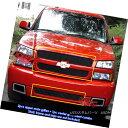 グリル For 03-05 Chevy Silverado 1500 SS Black Billet Gri...