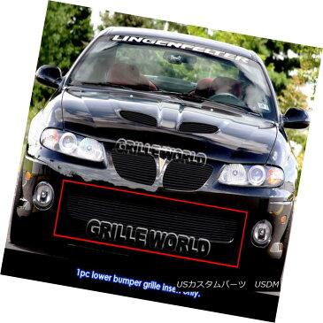 USグリル For 04-06 Pontiac GTO Black Billet Grille Insert 04-06ポンティアックGTOブラックビレットグリルインサート