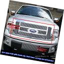 グリル For 2009-2012 Ford F150 Lariat/King Ranch Billet G...