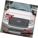 グリル For 04-05 Ford F-150 Honeycomb Billet Grille Combo...