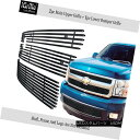グリル For 2007-2013 Chevy Silverado 1500 Stainless Steel...