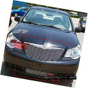 グリル For 07-08 Chrysler Sebring Billet Grille Insert 07...