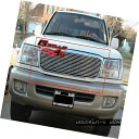 グリル For 99-02 Toyota Land Cruiser Billet Grille Insert...