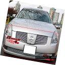 グリル For 04-06 Nissan Maxima Billet Grille Combo Insert...