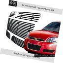 グリル For 2006-2013 Chevy Impala Stainless Steel Black B...