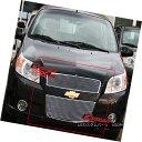 グリル For 2009-2011 Chevy Aveo 5 Door Hatchback Billet G...