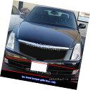 グリル Fits 2006-2011 Cadillac DTS Bumper Black Stainless...