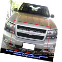 グリル For 2006-2009 Chevy Trailblazer LT Black Billet Gr...