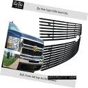 グリル Fits 2007-2010 Chevy Silverado 2500/3500 Stainless...