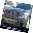 グリル Fits 2009-2014 Nissan Maxima Black Billet Grille C...