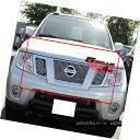 グリル Fits 2009-2018 Nissan Frontier Billet Main Upper G...