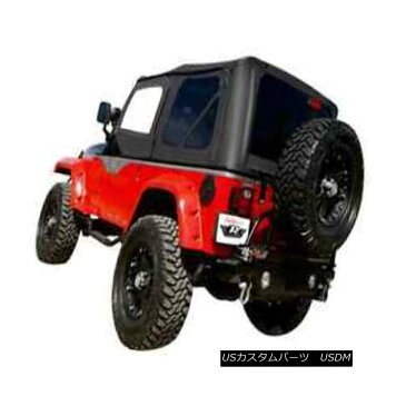 幌・ソフトトップ Rampage 68835 Complete Soft Top Kit Black Diamond Tint for 97-06 Jeep Wrangler Rampage 68835完全なソフトトップキットブラックダイヤモンドティント97-06ジープラングラー