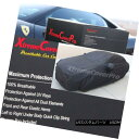 カーカバー 2015 Mercedes-Benz C300 C400 SEDAN Breathable Car Cover w/Mirror Pockets - Black 2015年メルセデスベンツC300 C400セダン通気性車カバー(ミラーポケット付) - ブラック