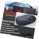 カーカバー BREATHABLE CAR COVER W/MIRROR POCKET-BLACK For...