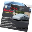 カーカバー 2015 Mercedes-Benz C300 C400 SEDAN Breathable Car Cover w/Mirror Pockets - Gray 2015年メルセデスベンツC300 C400セダン通気性車カバー(ミラーポケット付) - グレー