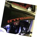 フルブラ ノーズブラ Car Hood Bra + INTEGRA LOGO (RED) Fit...