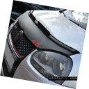 フルブラ ノーズブラ Car Bonnet Hood Bra + (RED) GTI LOGO ...