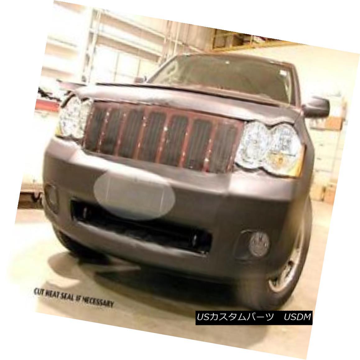 フルブラ ノーズブラ Lebra Front End Mask Bra Fits 2008 2009 2010 08 09 10 Jeep Grand Cherokee Lebraフロントエンドマスクブラフィット2008年2009 2010 08 09 10 Jeep Grand Cherokee画像
