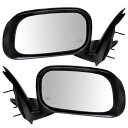 ミラー 07-09 Chrysler Aspen Set of Side View Power Mirror...