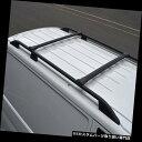 キャリア プジョーパートナーに合うようにルーフサイドバーに合うように設定されたブラッククロスバーレール(2008+) Black Cross Bar Rail Set To Fit Roof Side Bars To Fit Peugeot Partner (2008+)