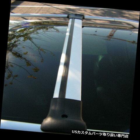 キャリア プジョーエキスパートにフィットするルーフサイドバーにフィットするAluクロスバーレールセット(2007-15) Alu Cross Bar Rail Set To Fit Roof Side Bars To Fit Peugeot Expert (2007-15)