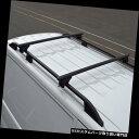 キャリア プジョーパートナーにフィットするルーフレール用のブラッククロスバー(2008+)100KGロック可能 Black Cross Bars For Roof Rails To Fit Peugeot Partner (2008+) 100KG Lockable