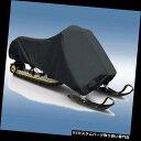 スノーモービルカバー 北極猫用収納スノーモービルカバーZRT 800 2000 2001 Storage Snowmobile Cover for Arctic Cat ZRT 800 2000 2001