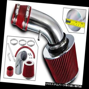 エアインテーク インナーダクト スポーツエアインテークキット+ 90-93いすゞ衝動/ジオストーム1.6L 1.8L L4用REDフィルター Sport Air Intake Kit+RED Filter For 90-93 Isuzu Impulse / Geo Storm 1.6L 1.8L L4