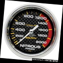 USタコメーター オートメーター4828炭素繊維機械式亜硝酸圧力...