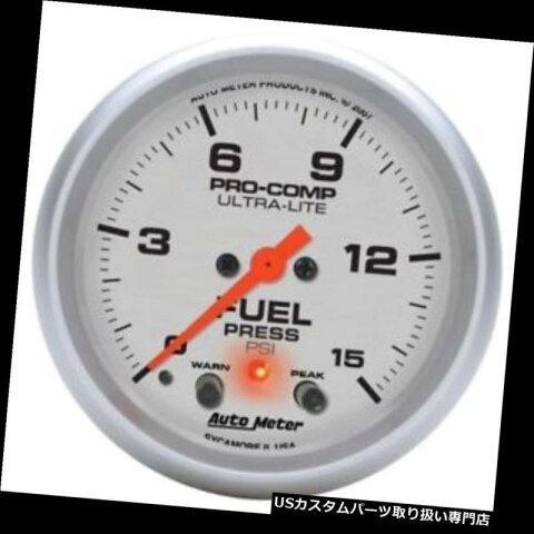 USタコメーター オートメーター4470超軽量デジタルステッパーモーター燃料プレゲージ Auto Meter 4470 Ultra-Lite Digital Stepper Motor Fuel Pres Gauge