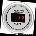 USタコメーター AutoMeter 6593ウルトラライトデジタル電圧計...