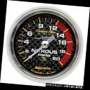 USタコメーター オートメーター4728炭素繊維機械式亜硝酸圧力...