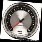 USタコメーター オートメーター1299年アメリカンマッスルエアコアインダッシュタコメーターゲージ Auto Meter 1299 American Muscle Air-Core In-Dash Tachometer Gauge