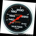 USタコメーター オートメーター5432 Pro-Comp機械式水温計 Au...