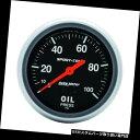 USタコメーター AutoMeter 3421 Sport-Compメカニカル油圧ゲ...