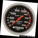 USタコメーター AutoMeter 3428 Sport-Compメカニカル窒素圧...