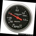 USタコメーター AutoMeter 3401-J Sport-Compメカニカルメト...
